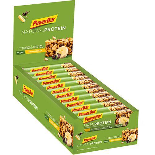 PowerBar Natural Proteinriegel 30 % Protein (24 x 40 g) - 21-40g 21-30