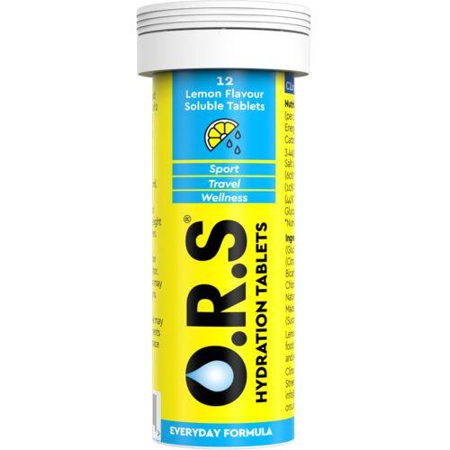 O.R.S Brausetabletten (12 Tabletten) - 12 Zitrone   Brausetabletten