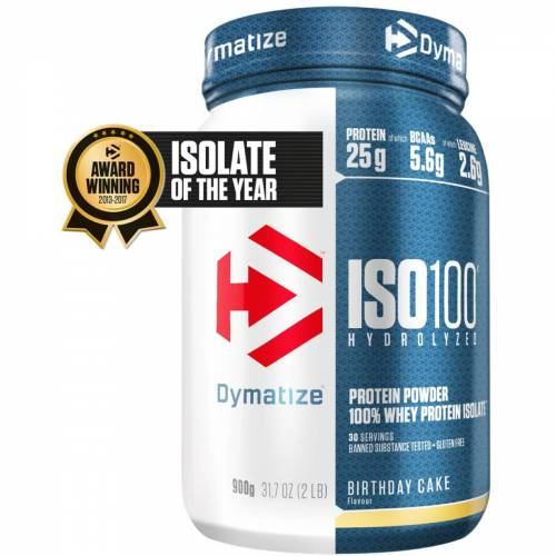 Dymatize Iso 100 Proteinpulver (900 g) - 801-900g Cakes & Biscuits