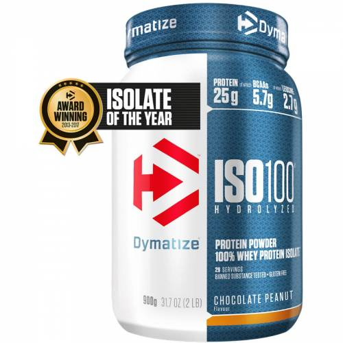 Dymatize Iso 100 Proteinpulver (900 g) - 801-900g Chocolate & Nuts