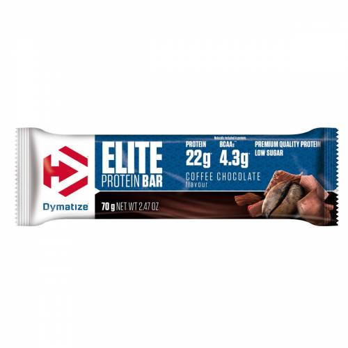 Dymatize Elite Proteinriegel (15 x 70 g) - 61-80g Coffee   Riegel
