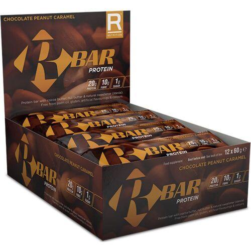 Reflex R Bar Riegel (12 x 60 g) - 12 x 60g Chocolate Peanut Car