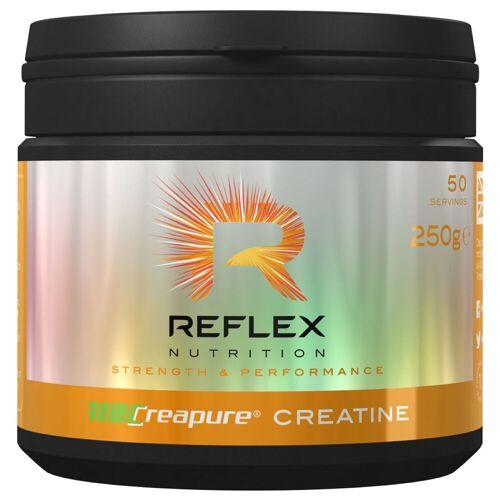 Reflex Creapure Kreatin Monohydrat Pulver (250 g) - 250g Unflavoured