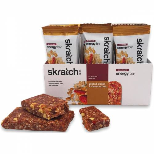 skratch labs Energieriegel (12 x 50 g) - Peanut   Riegel