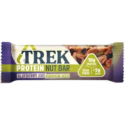 TREK Protein Nussriegel (16 x 40 g) - 16 x 40g Blueberry & Pumpkin