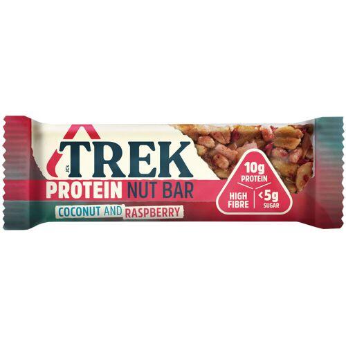 TREK Protein Nussriegel (16 x 40 g) - 16 x 40g Coconut & Raspberry