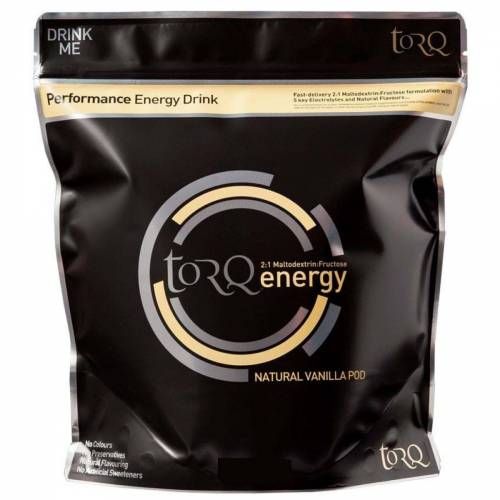 Torq Energy Getränkepulver (500 g) - 500g Vanilla Pod   Getränkepulver