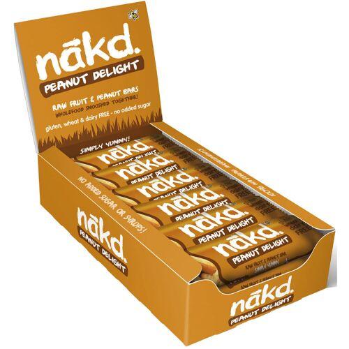 nakd. Riegel (18 x 35 g) - 18x35g 18x35g Peanut Delight   Riegel
