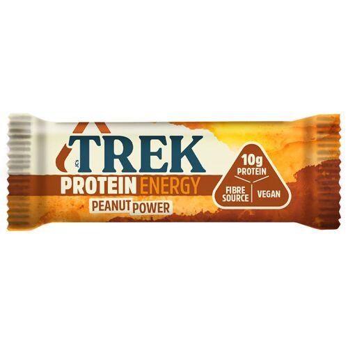 TREK Proteinriegel (16 x 55 g) - 16x55g 11-20 Peanut Power   Riegel