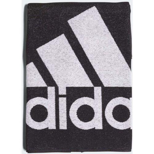 Adidas Handtuch (Größe Ll) - M Schwarz/Weiß   Handtücher