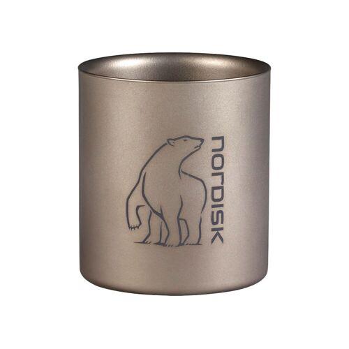 Nordisk Titanbecher (220 ml, Doppelwand)   Geschirr