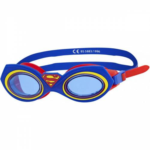 Zoggs Superman Character Schwimmbrille - One Size Blue/Red