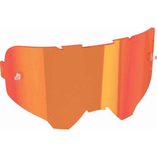 Leatt Iriz Brillenglas (verspiegelt) - One Size Rot   Radsportbrillen