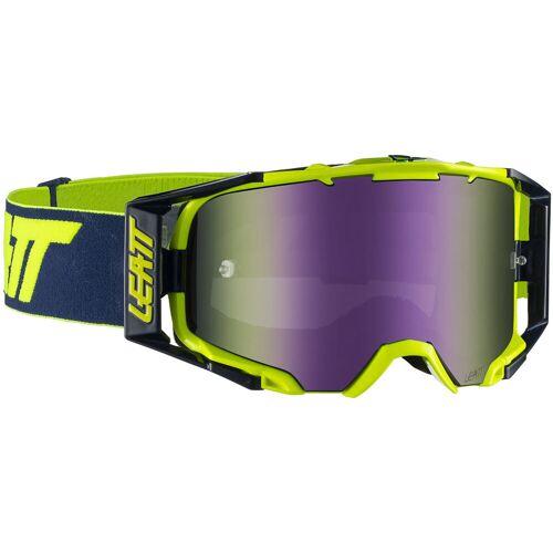 Leatt Velocity 6.5 Iriz Brille - One Size Blue/Blue   Radsportbrillen
