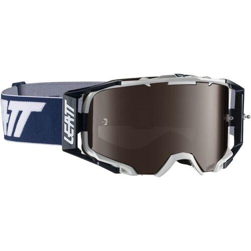 Leatt Velocity 6.5 Iriz Brille - One Size Blau/Weiß   Radsportbrillen