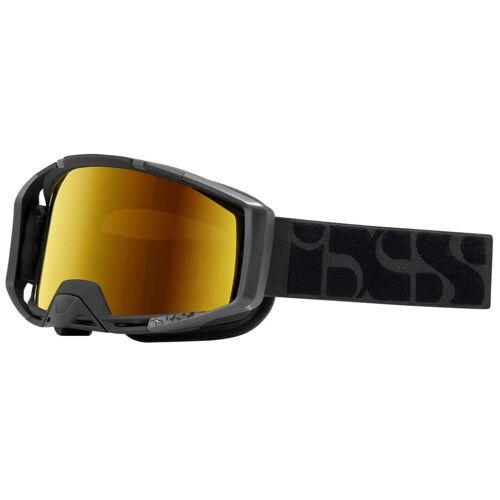 IXS Trigger Brille - One Size Black-Mirror Gold   Radsportbrillen