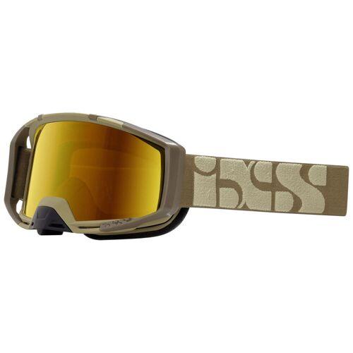 IXS Trigger Brille - One Size Camel-Mirror Gold   Radsportbrillen