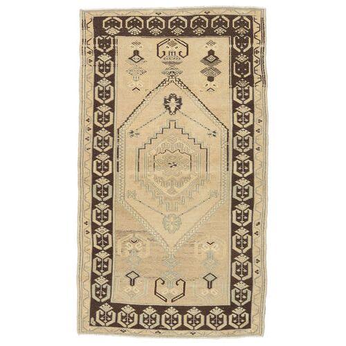 Handgeknüpft. Ursprung: Turkey Taspinar Teppich  94X163 Beige/Dunkel Beige (Wolle, Türkei)