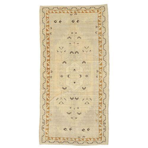 Handgeknüpft. Ursprung: Turkey Taspinar Teppich  113X227 Dunkel Beige/Beige (Wolle, Türkei)
