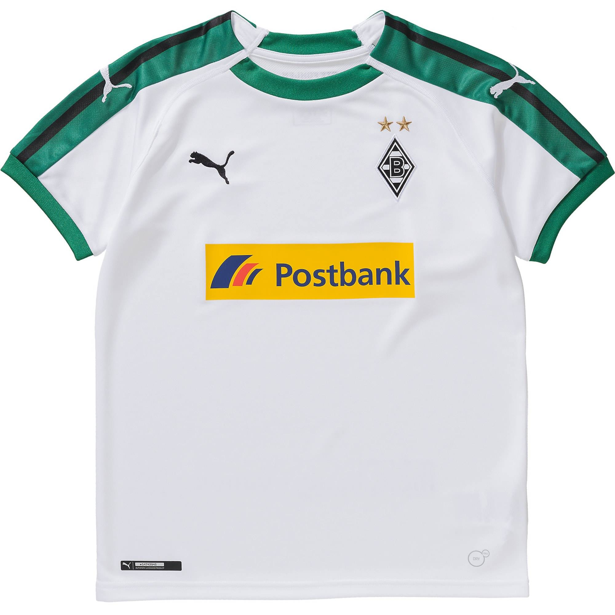 Puma Fußballtrikot 'Borussia Mönchengladbach 18/19 Heim' 128,152,164,140