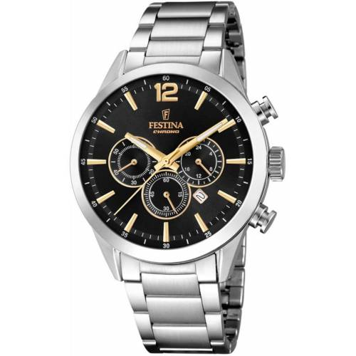 FESTINA Chronograph 'Timeless Chronograph, F20343/4' One Size