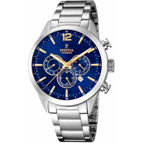 FESTINA Chronograph 'Timeless Chronograph, F20343/2' One Size