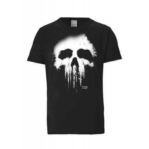 LOGOSHIRT T-Shirt 'Punisher Marvel' 5XL,XXXL,XXL,4XL,M,S,XL,L,XS