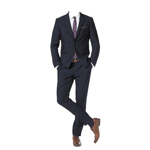 BRUNO BANANI Anzug mit Krawatte und Einstecktuch (Set, 4 tlg.) 50,48,52,46,54,56