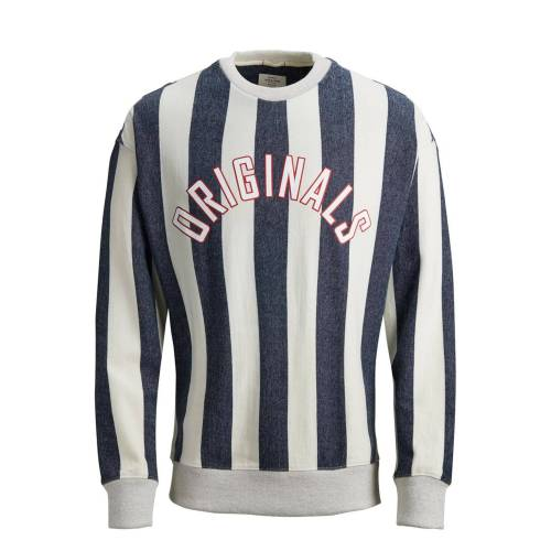 JACK & JONES Gestreiftes Sweatshirt L,M,XL,XXL