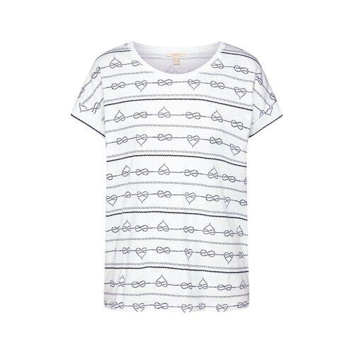 ESPRIT Shirt 'AOP T-Shirt' XS,S,M,L,XL,XXL