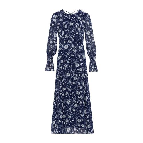 IVY & OAK Kleid 'Chiffon Midi Dress' 32,34,36,38,40,42,44,46