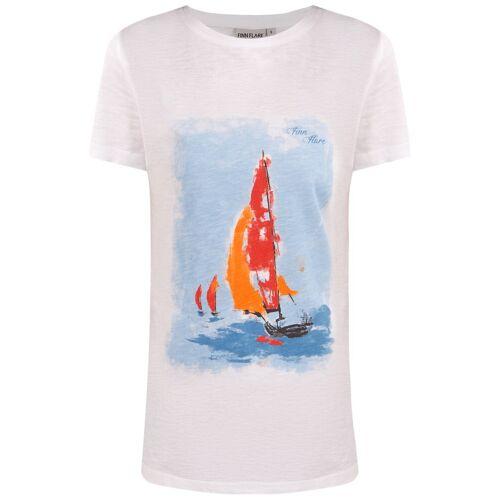 Finn Flare T-Shirt 'SEGELBOOT' L,XL,S,XS