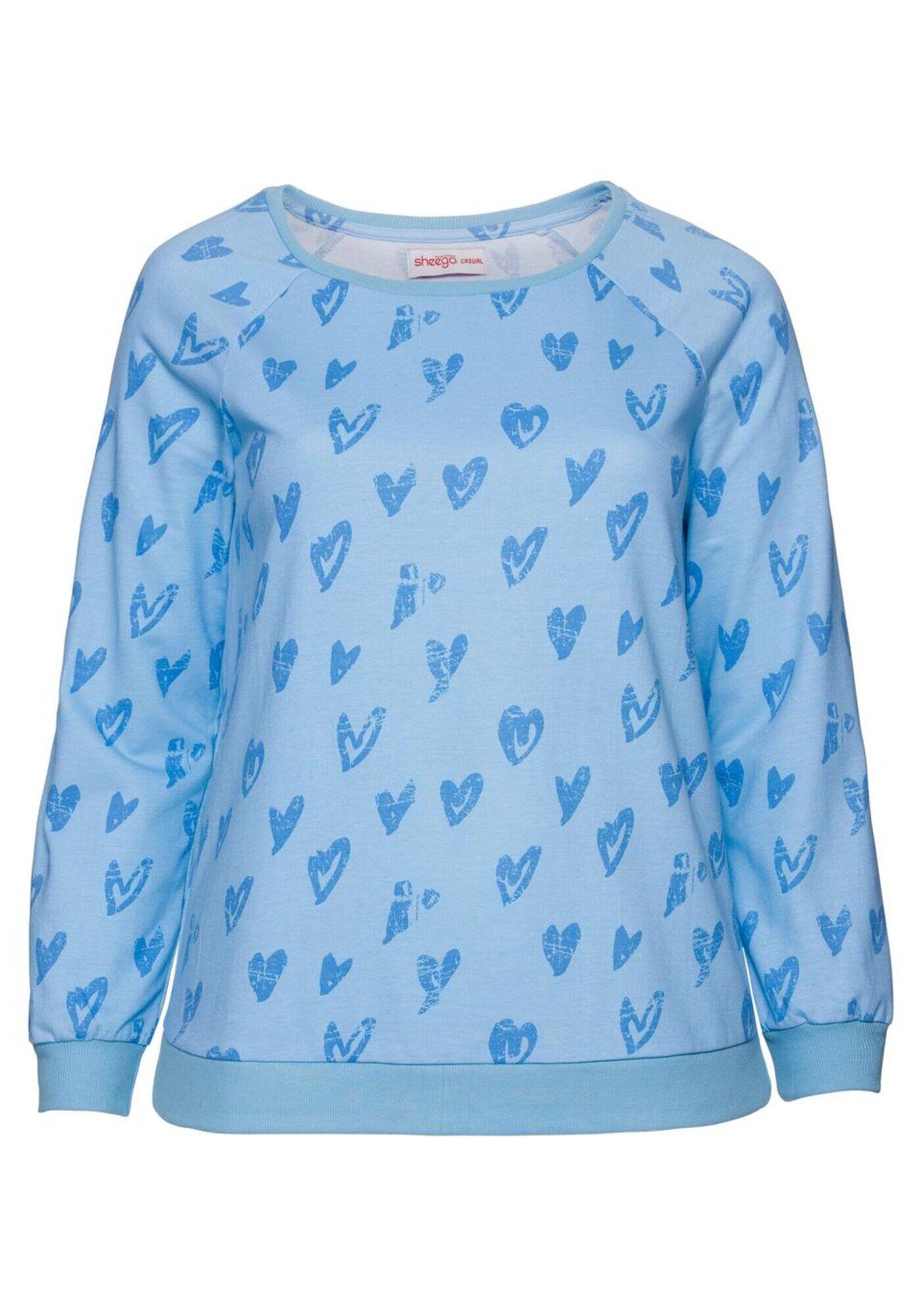 Sheego Casual Sweatshirt M-L,L-XL,XL-XXL