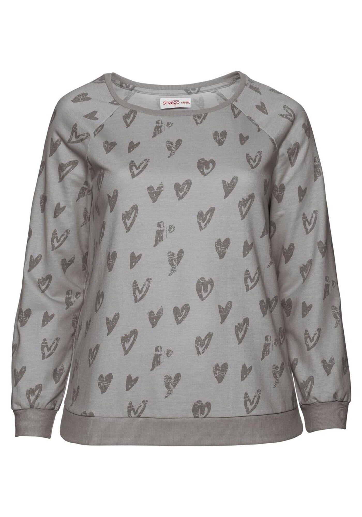 Sheego Casual Sweatshirt M-L,L-XL