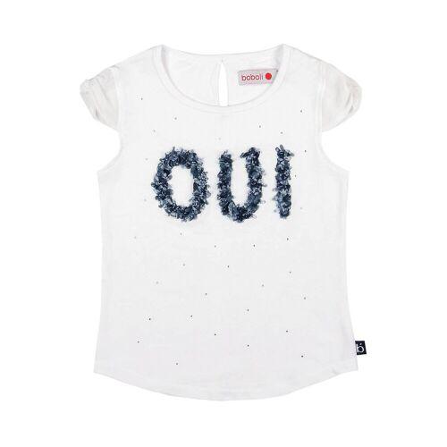 BÒBOLI T-Shirt mit Strasssteinen 104,110,116,122,128,140,98