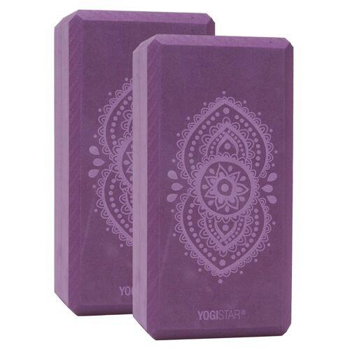YOGISTAR.COM Yogablock 'Ajna Chakra' XXXS