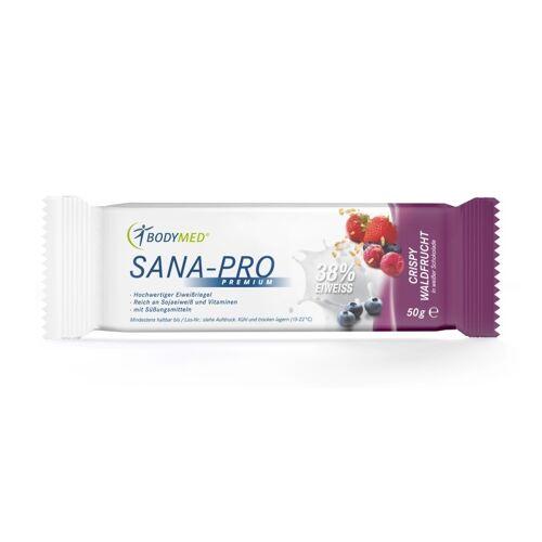 Bodymed SANA-PRO Premium Eiweißriegel - Crispy Waldfrucht / 1 Stück