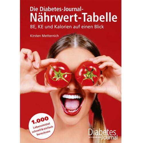 Die Diabetes-Journal-Nährwert-Tabelle - Nährwert-Tabelle / 1 Stück