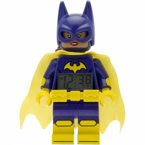 Lego THE LEGO® BATMAN MOVIE Batgirl™ Minifiguren-Uhr mit Wecker