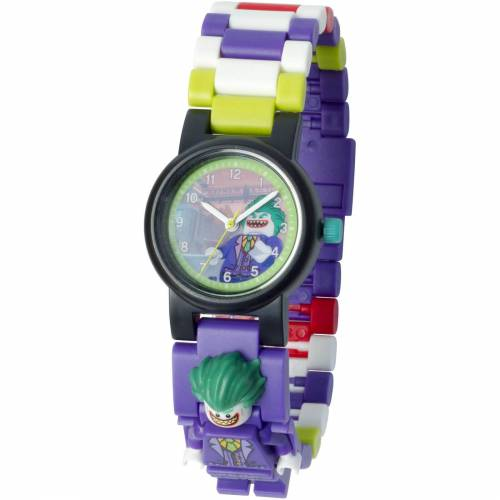 Lego THE LEGO® BATMAN MOVIE – Kinderuhr mit Joker™ Minifigur