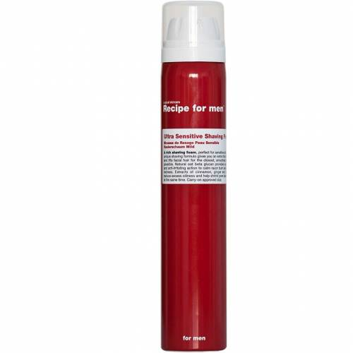 Recipe for Men Ultra Sensitive Rasierschaum (100 ml)