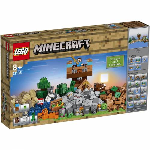 Lego Minecraft: Die Crafting-Box 2.0 (21135)