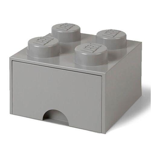 Lego Aufbewahrungsbox 4er - Grau