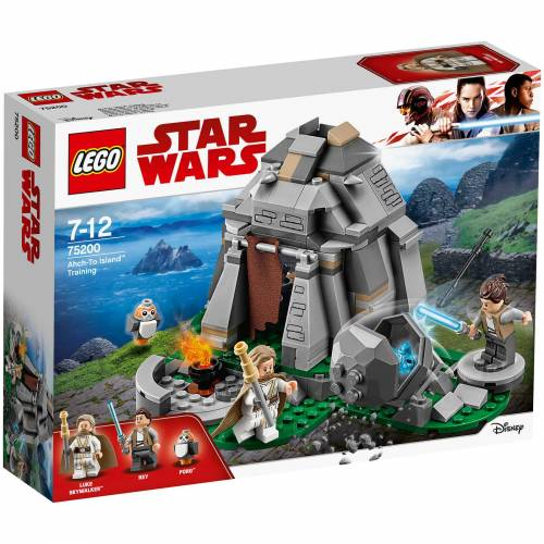 Lego Star Wars The Last Jedi: Ahch-To Island Training (75200)