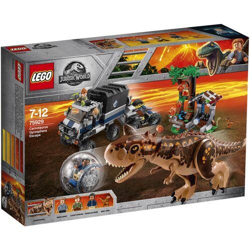 Lego Carnotaurus - Flucht in der Gyrosphere (75929)