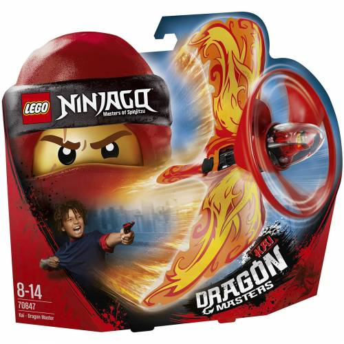 Lego Ninjago: Drachenmeister Kai (70647)
