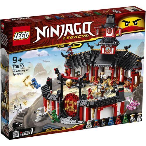 Lego Ninjago: Kloster des Spinjitzu 70670