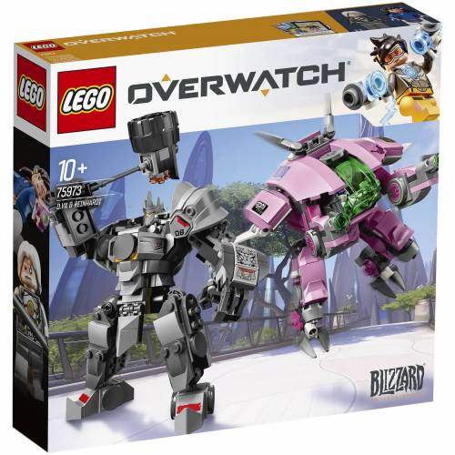 Lego Overwatch: d.VA & Reinhardt