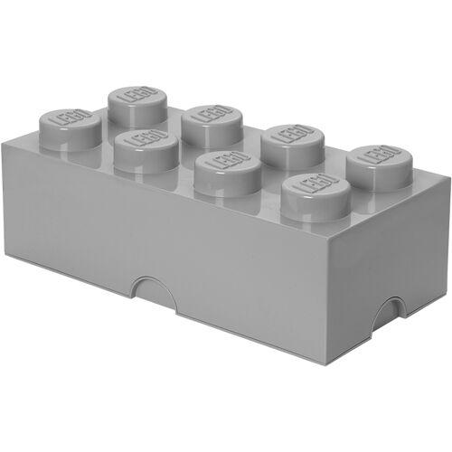 Lego Aufbewahrungsbox 8er - Grau