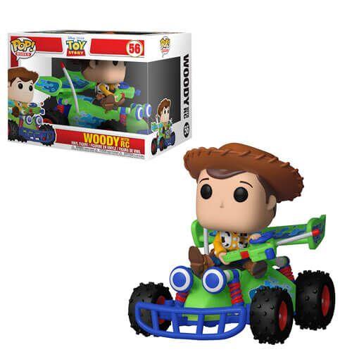 Pop! Vinyl Toy Story - Woody mit Rennauto Pop! Ride Figur